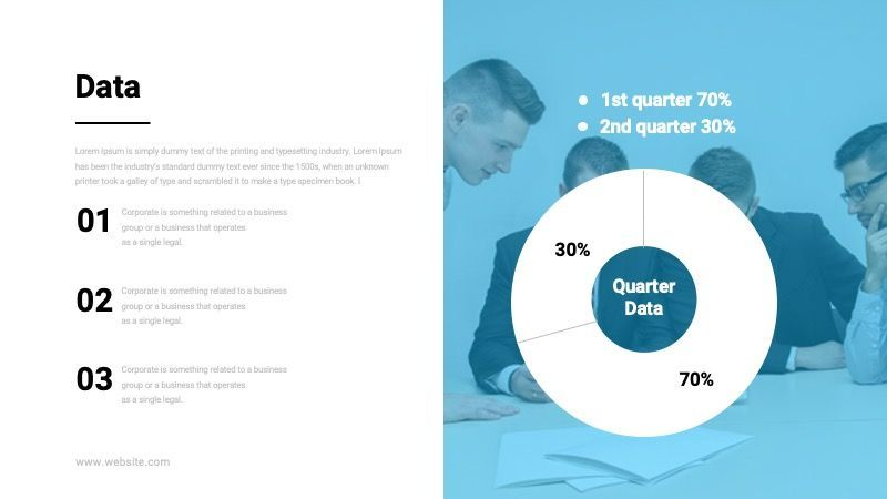 TEMPO Business Googleslide Template, Slide 35, 07836, Presentation Templates — PoweredTemplate.com