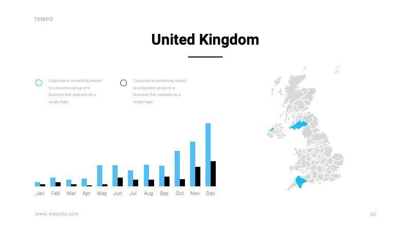 TEMPO Business Googleslide Template, Slide 43, 07836, Presentation Templates — PoweredTemplate.com
