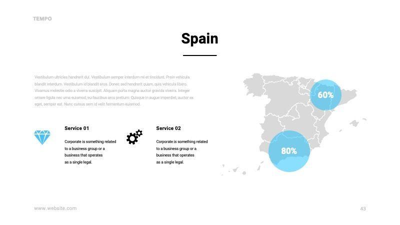 TEMPO Business Googleslide Template, Slide 44, 07836, Presentation Templates — PoweredTemplate.com