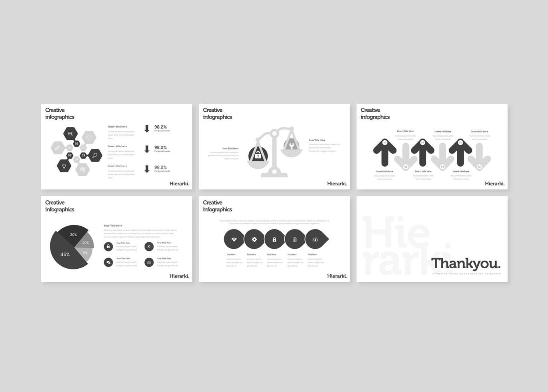 Hierarki - Google Slides Template, Slide 5, 07845, Presentation Templates — PoweredTemplate.com