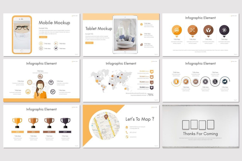 Aerial - PowerPoint Template, Slide 5, 07852, Presentation Templates — PoweredTemplate.com