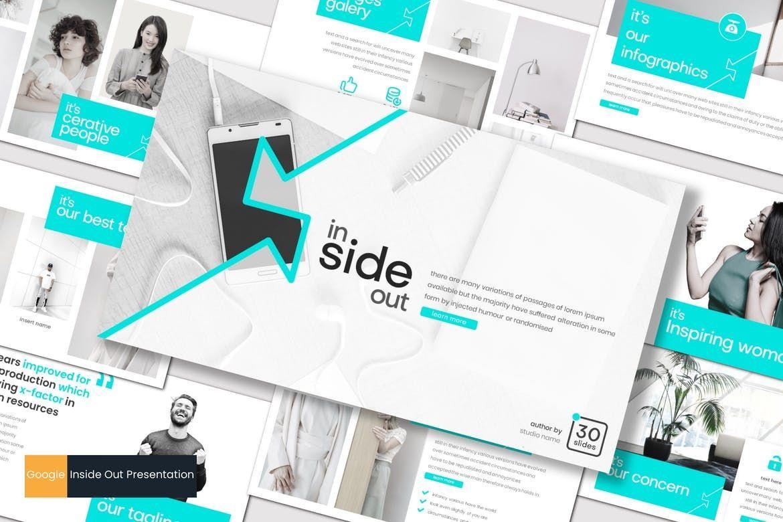 Inside Out - Google Slides Template, 07855, Presentation Templates — PoweredTemplate.com