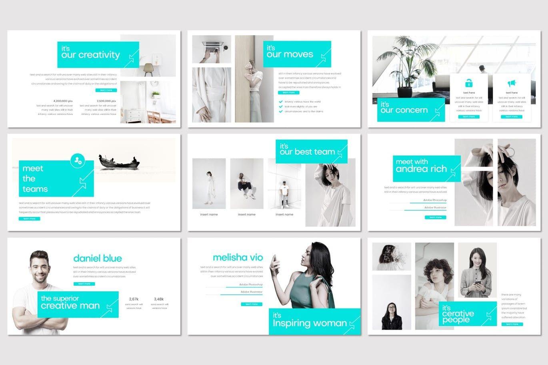 Inside Out - Google Slides Template, Slide 3, 07855, Presentation Templates — PoweredTemplate.com