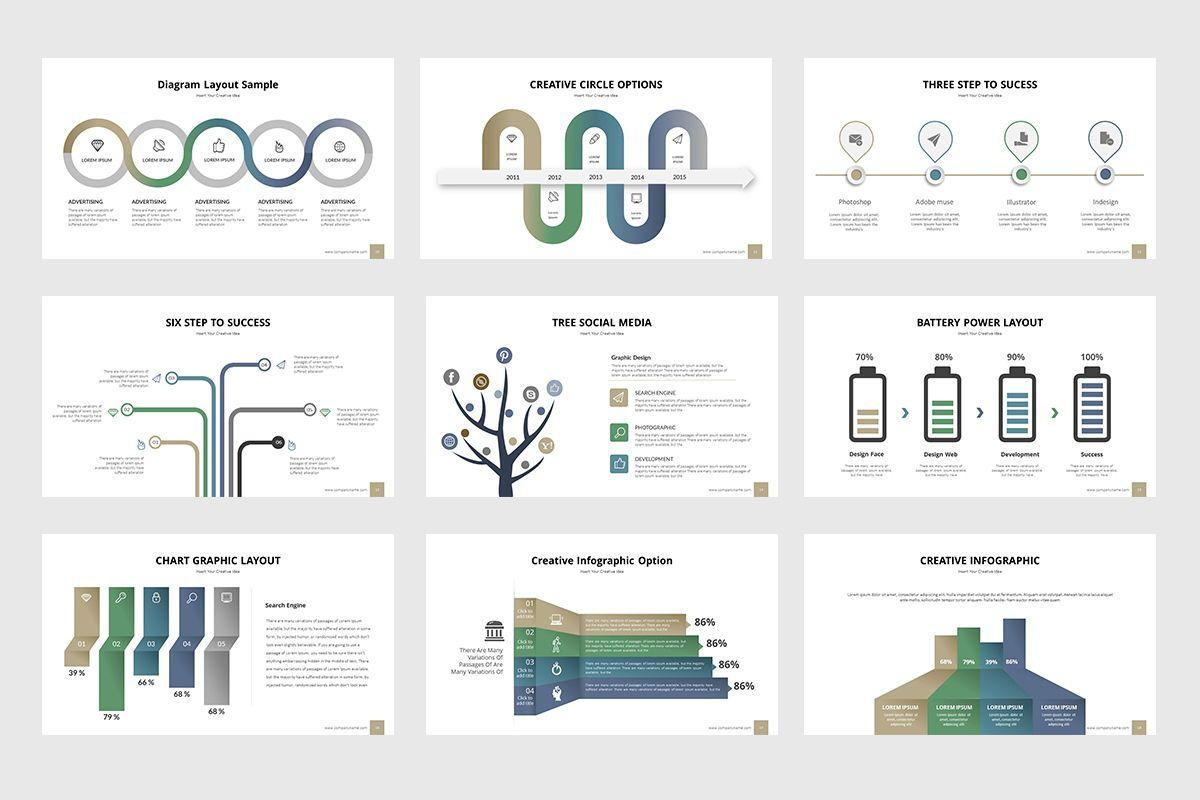 Business Process Infographic Powerpoint, Slide 3, 07863, Business Models — PoweredTemplate.com