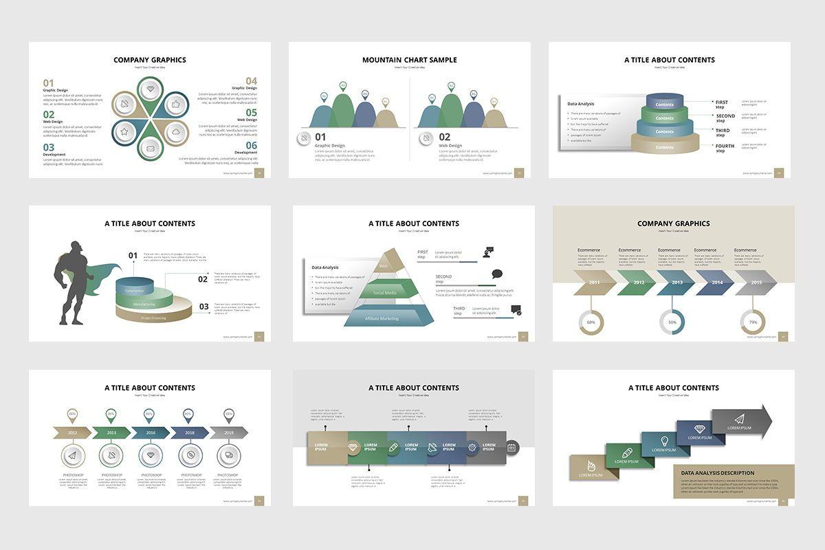 Business Process Infographic Powerpoint, Slide 4, 07863, Business Models — PoweredTemplate.com