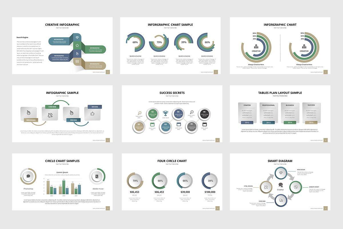 Business Process Infographic Powerpoint, Slide 5, 07863, Business Models — PoweredTemplate.com