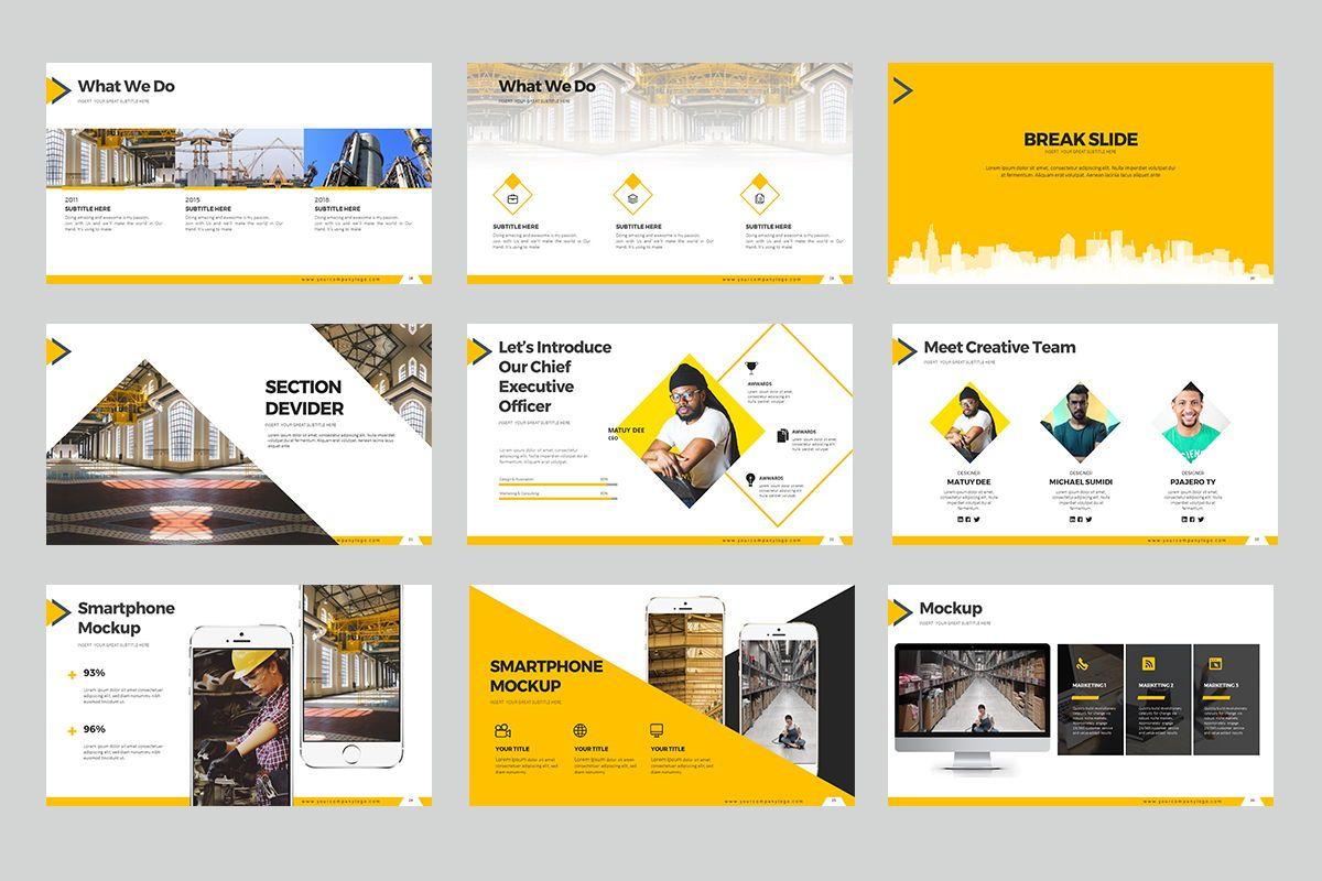 Construction Keynote Templates, Slide 4, 07864, Business Models — PoweredTemplate.com