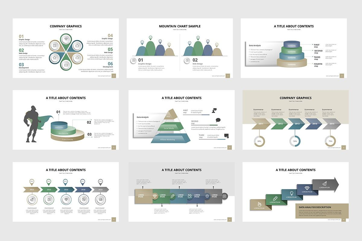 Business Process Infographic Keynote, Slide 4, 07865, Business Models — PoweredTemplate.com