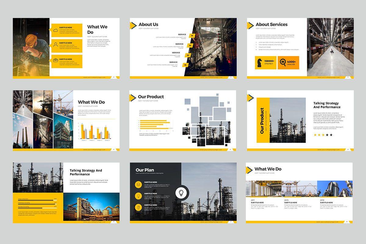 Construction Google Slides, Slide 3, 07866, Business Models — PoweredTemplate.com
