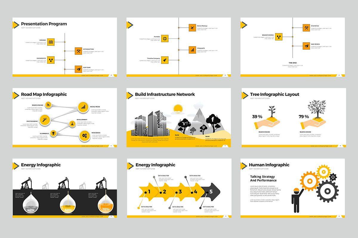 Construction Google Slides, Slide 5, 07866, Business Models — PoweredTemplate.com