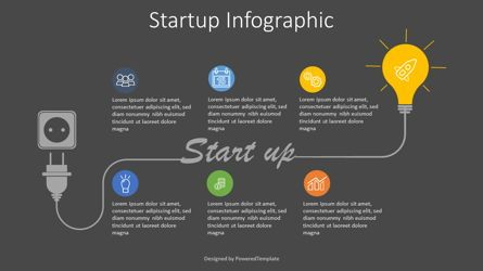Shapes: Startup Development Concept Infographic #07868