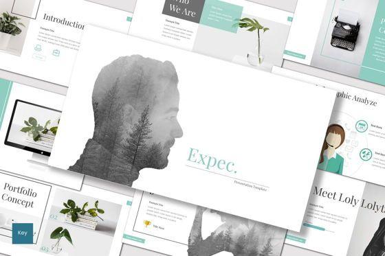 Presentation Templates: Expec - Keynote Template #07873
