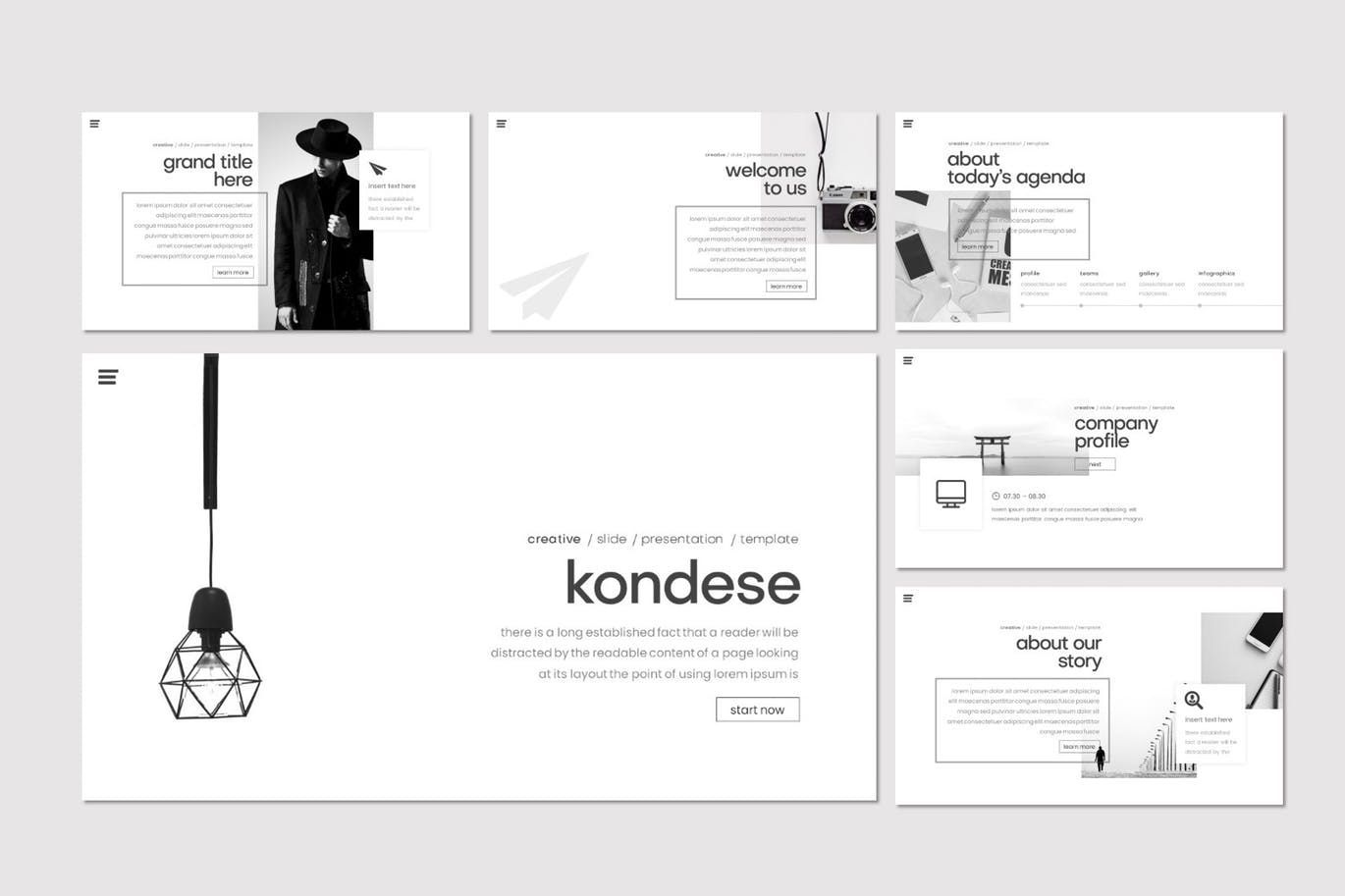 Kondese - PowerPoint Template, Slide 2, 07878, Presentation Templates — PoweredTemplate.com