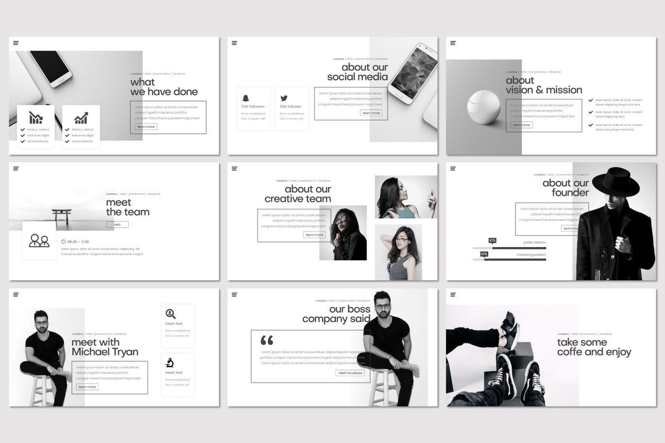 Kondese - PowerPoint Template, Slide 3, 07878, Presentation Templates — PoweredTemplate.com
