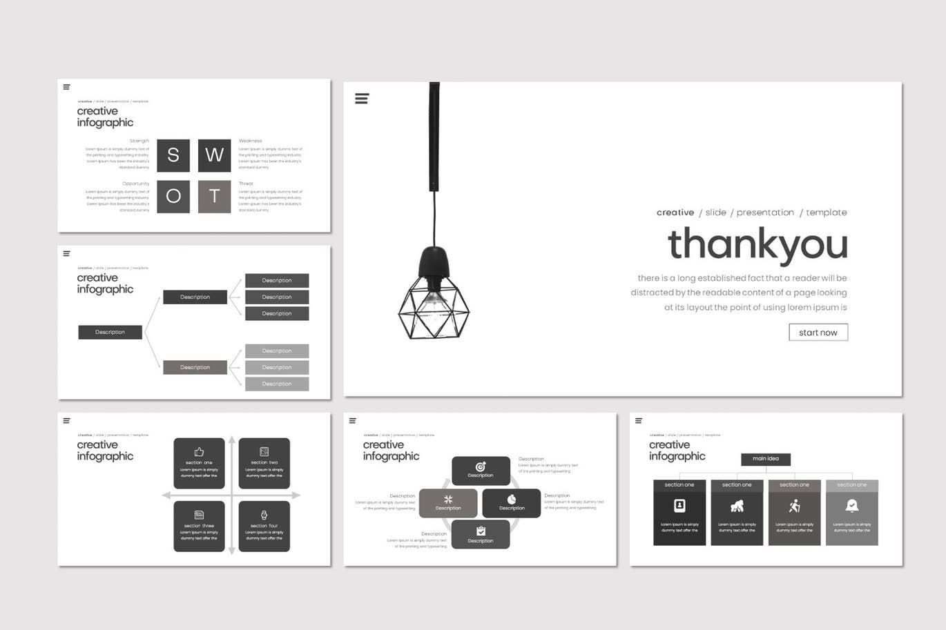Kondese - PowerPoint Template, Slide 5, 07878, Presentation Templates — PoweredTemplate.com