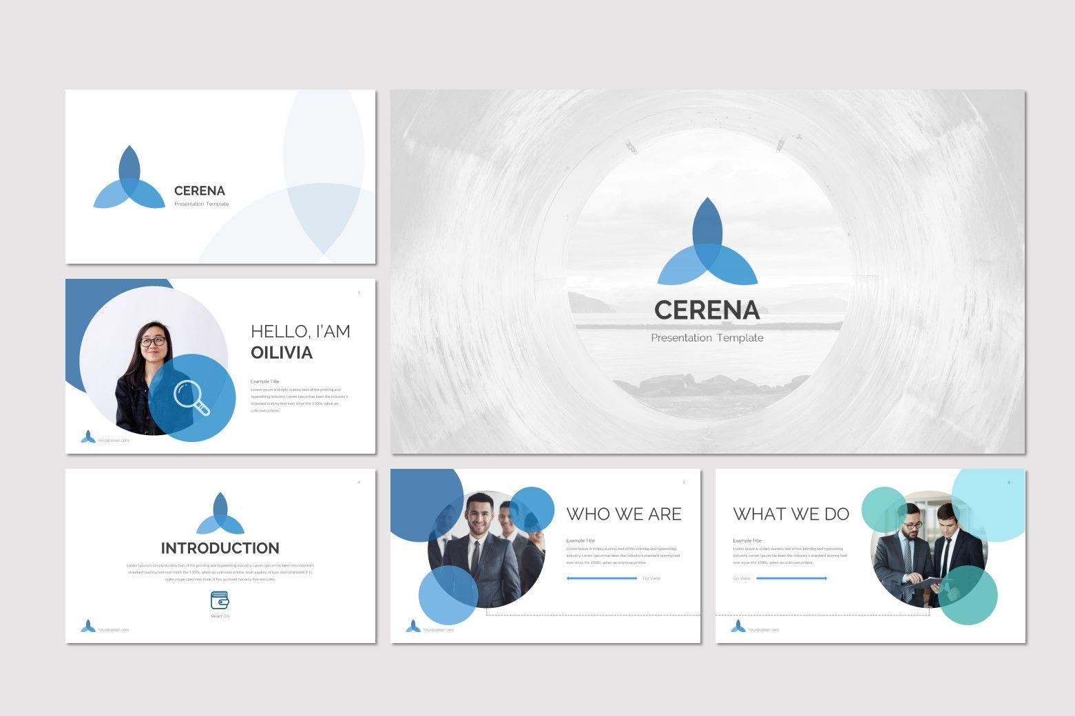 Cerena - Google Slides Template, Slide 2, 07879, Presentation Templates — PoweredTemplate.com