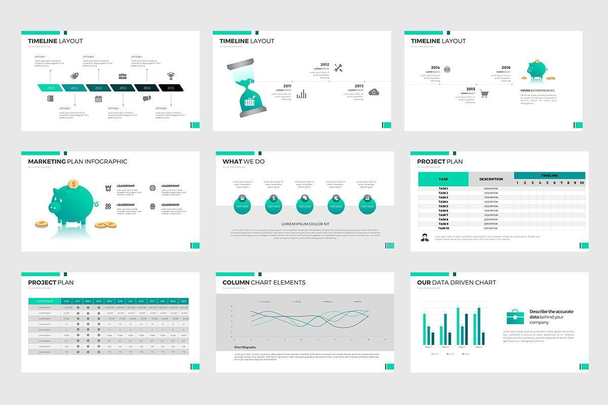 Report Google Slides, Slide 5, 07889, Business Models — PoweredTemplate.com