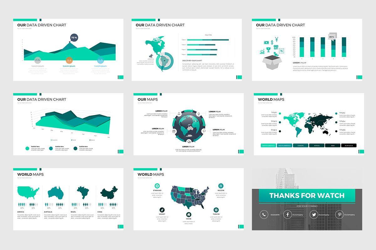 Report Google Slides, Slide 6, 07889, Business Models — PoweredTemplate.com