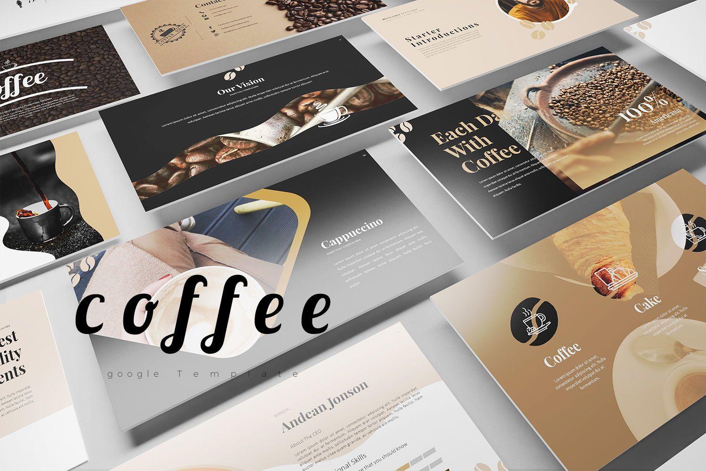 Coffee Keynote Templates, 07892, Business Models — PoweredTemplate.com