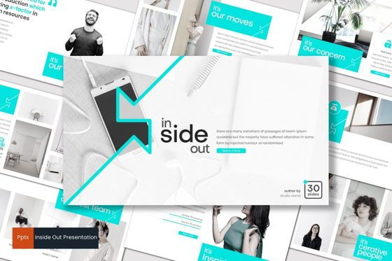 Presentation Templates: Inside Out - PowerPoint Template #07895