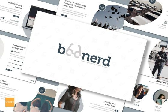 Presentation Templates: Boonerd - Keynote Template #07896