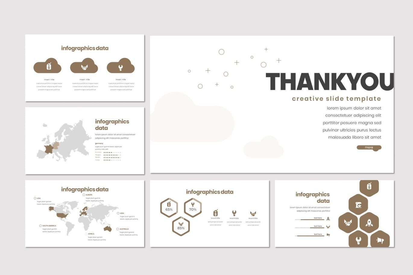 Cloudstrot - PowerPoint Template, Slide 5, 07898, Presentation Templates — PoweredTemplate.com