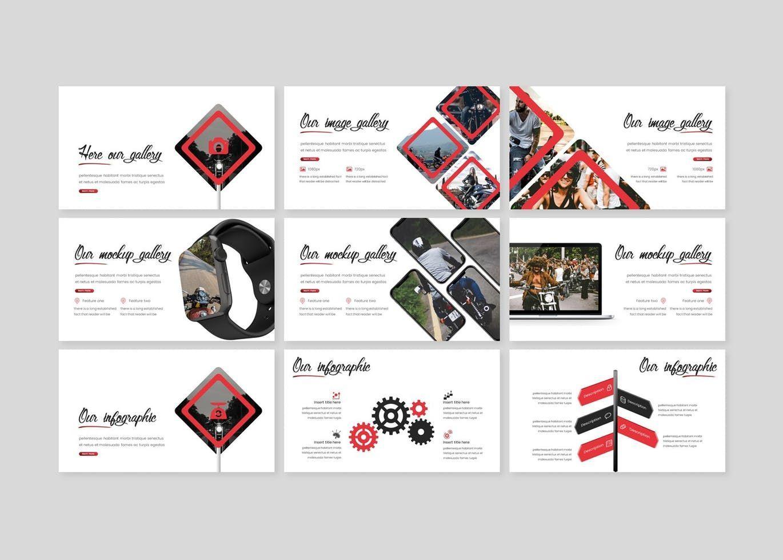 Meteoride - PowerPoint Template, Slide 4, 07909, Presentation Templates — PoweredTemplate.com