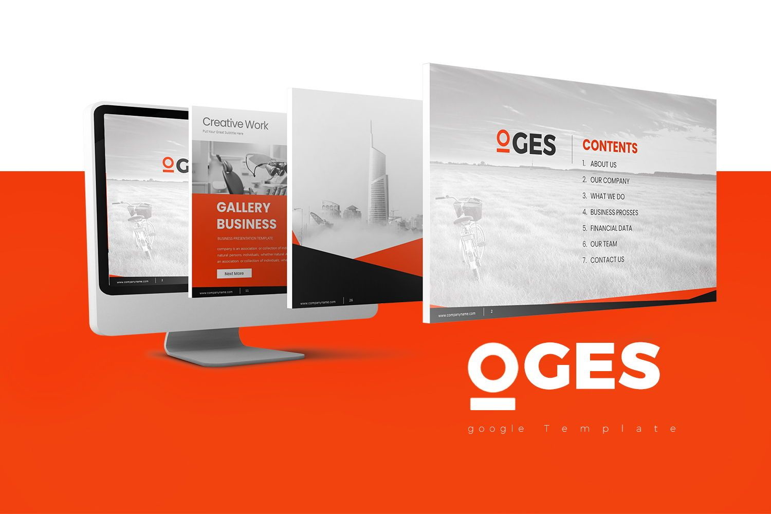 Oges PowerPoint Presentation, 07911, Business Models — PoweredTemplate.com