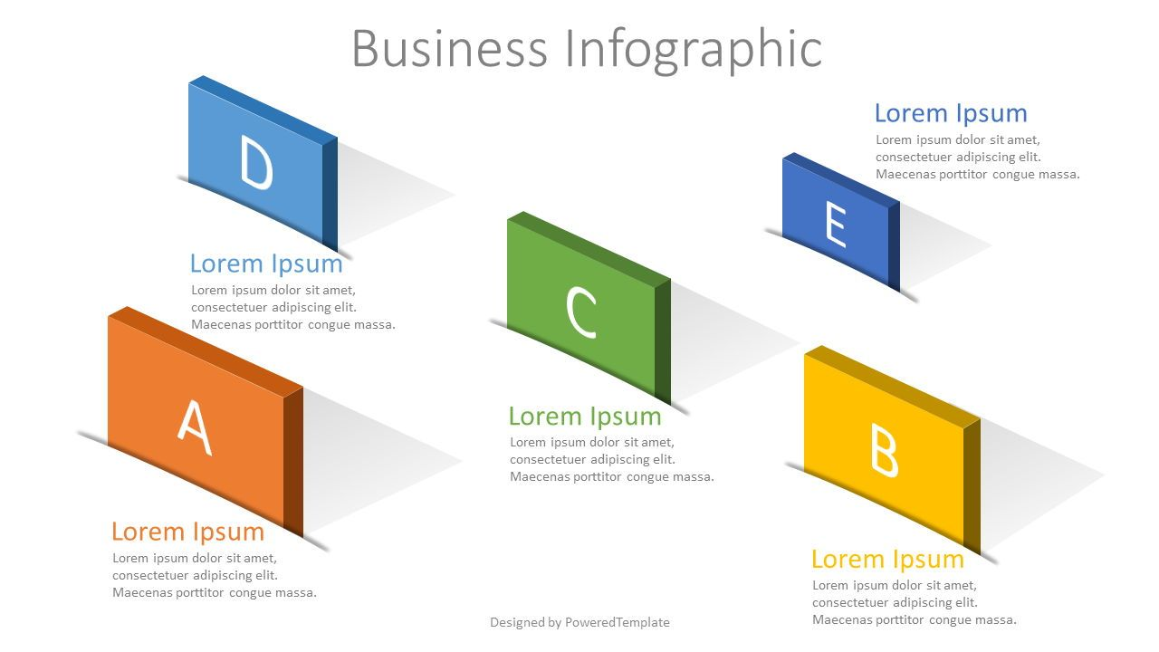 5 Options Creative Business Infographic Free Presentation Template For Google Slides And Powerpoint 07913