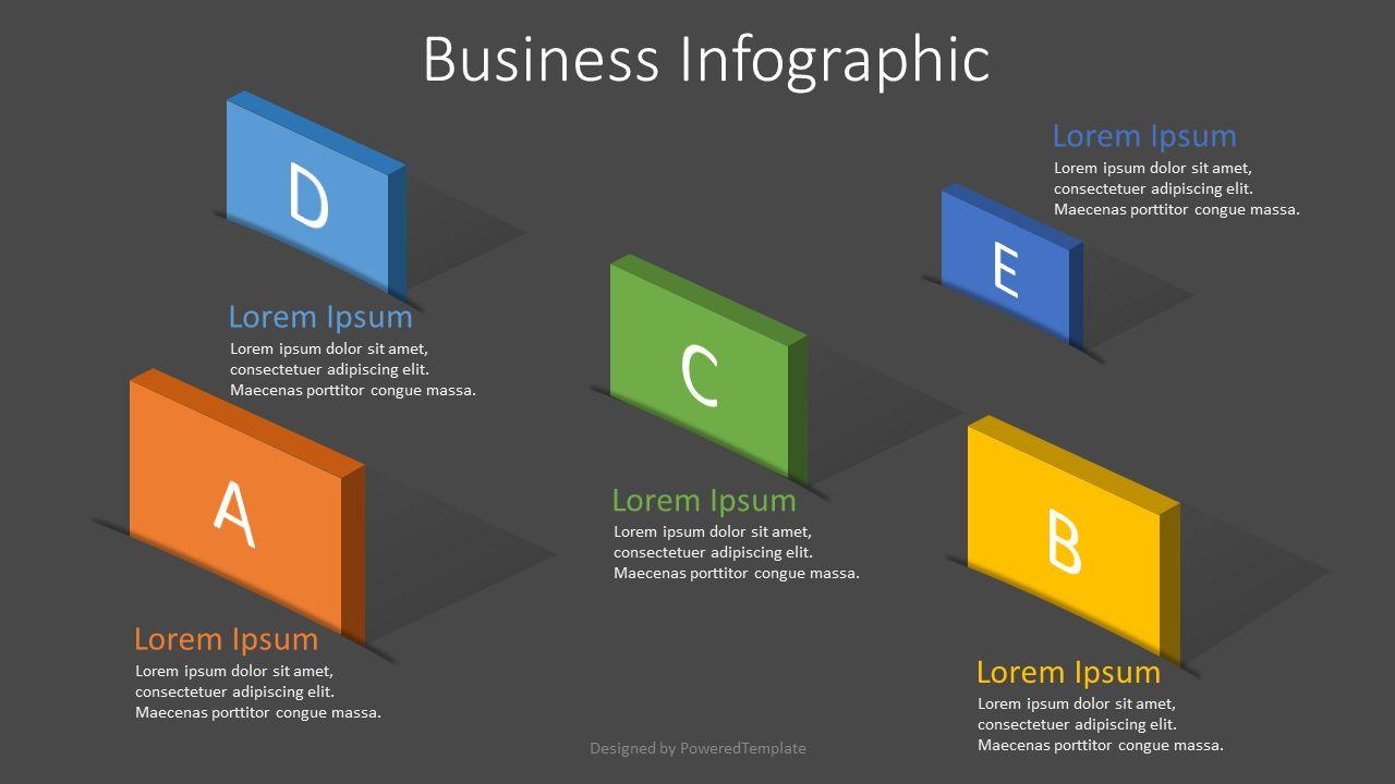 5 Options Creative Business Infographic, Slide 2, 07913, Infographics — PoweredTemplate.com