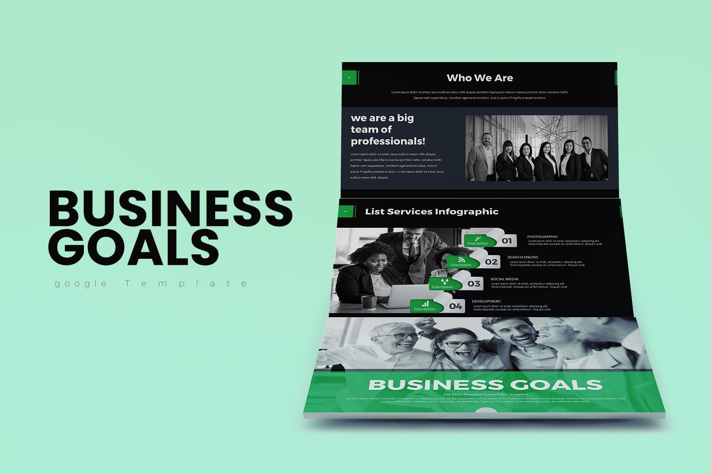 Business Goals PowerPoint, 07914, Business Models — PoweredTemplate.com
