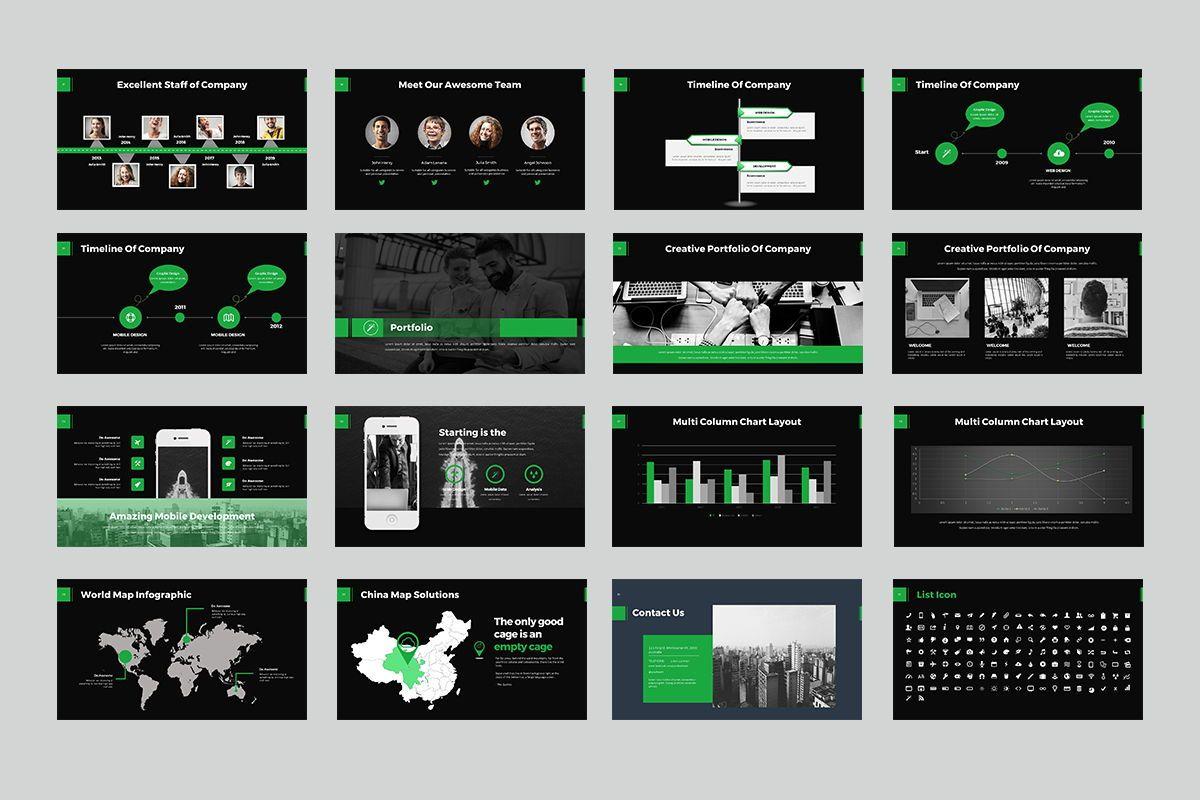 Business Goals PowerPoint, Slide 3, 07914, Business Models — PoweredTemplate.com