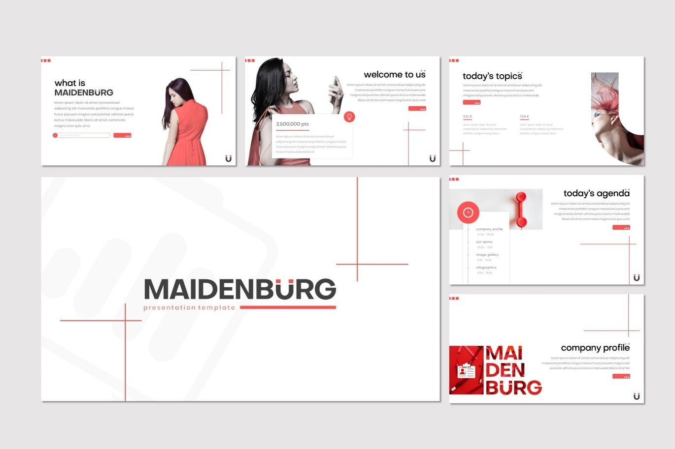 Maidenburg - Keynote Template, Slide 2, 07918, Presentation Templates — PoweredTemplate.com