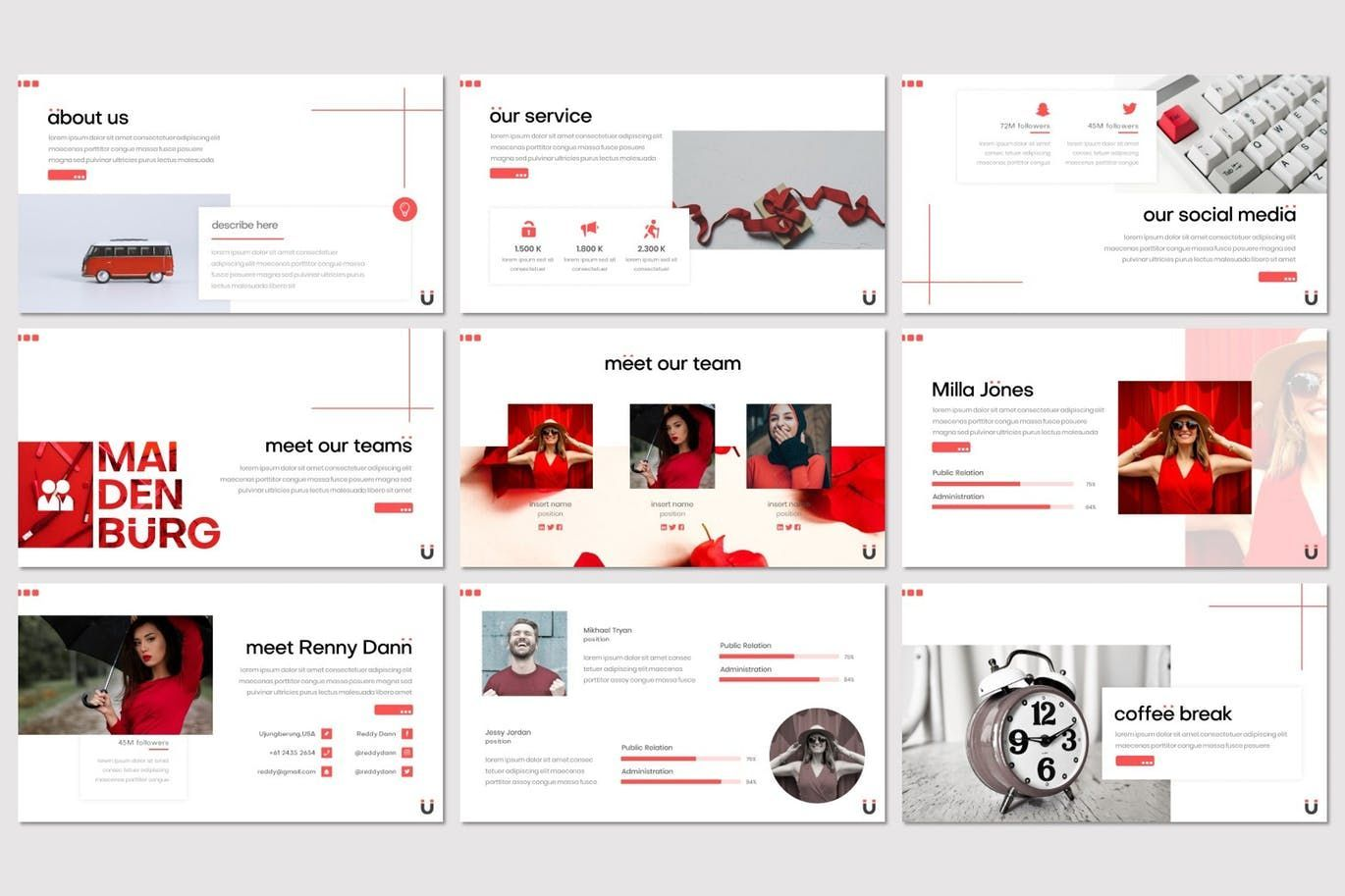 Maidenburg - Keynote Template, Slide 3, 07918, Presentation Templates — PoweredTemplate.com
