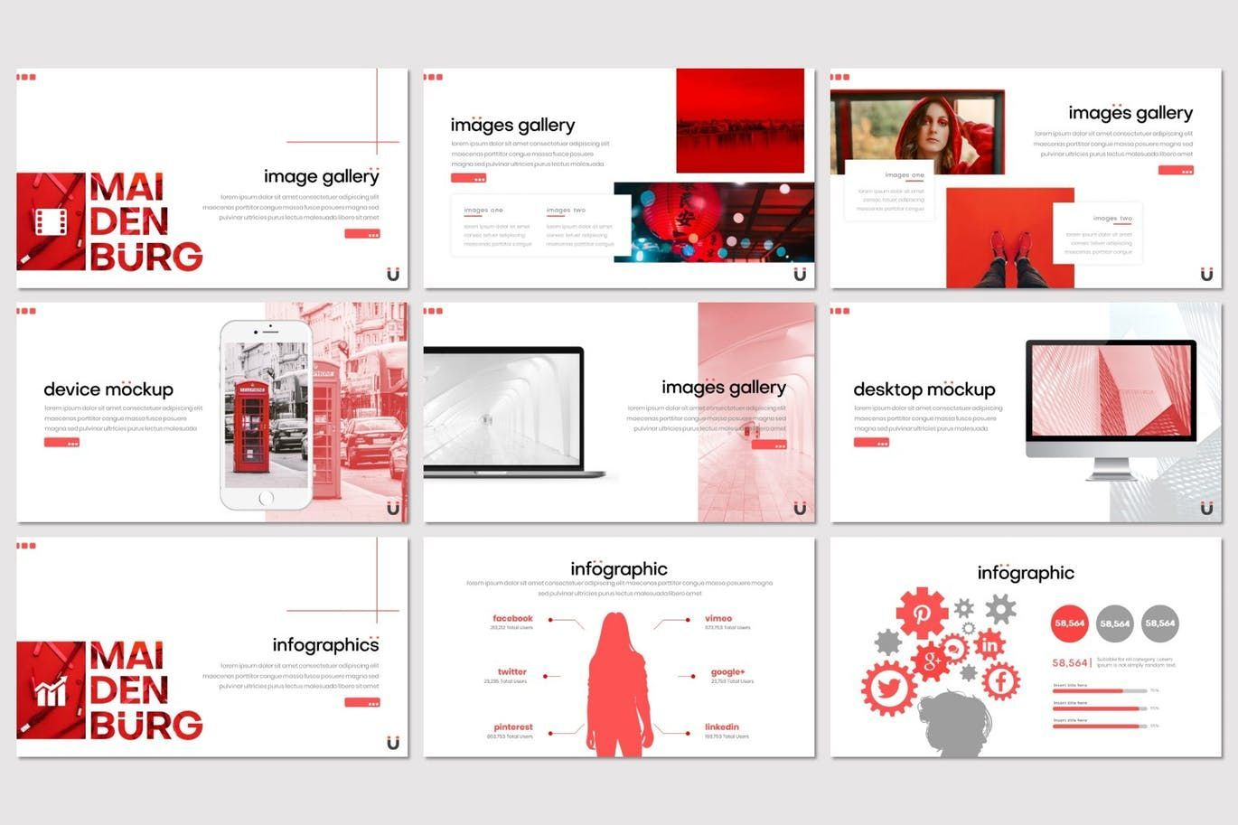 Maidenburg - Keynote Template, Slide 4, 07918, Presentation Templates — PoweredTemplate.com