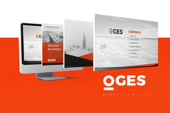 Business Models: Oges Keynote Template #07920