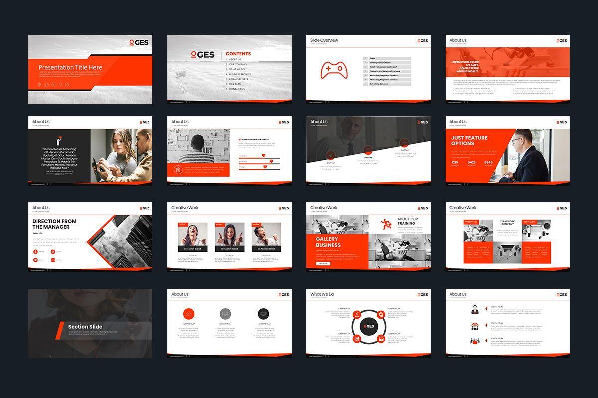 Oges Keynote Template, Slide 2, 07920, Business Models — PoweredTemplate.com