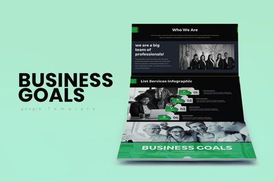 Business Models: Business Goals Google Slide #07922