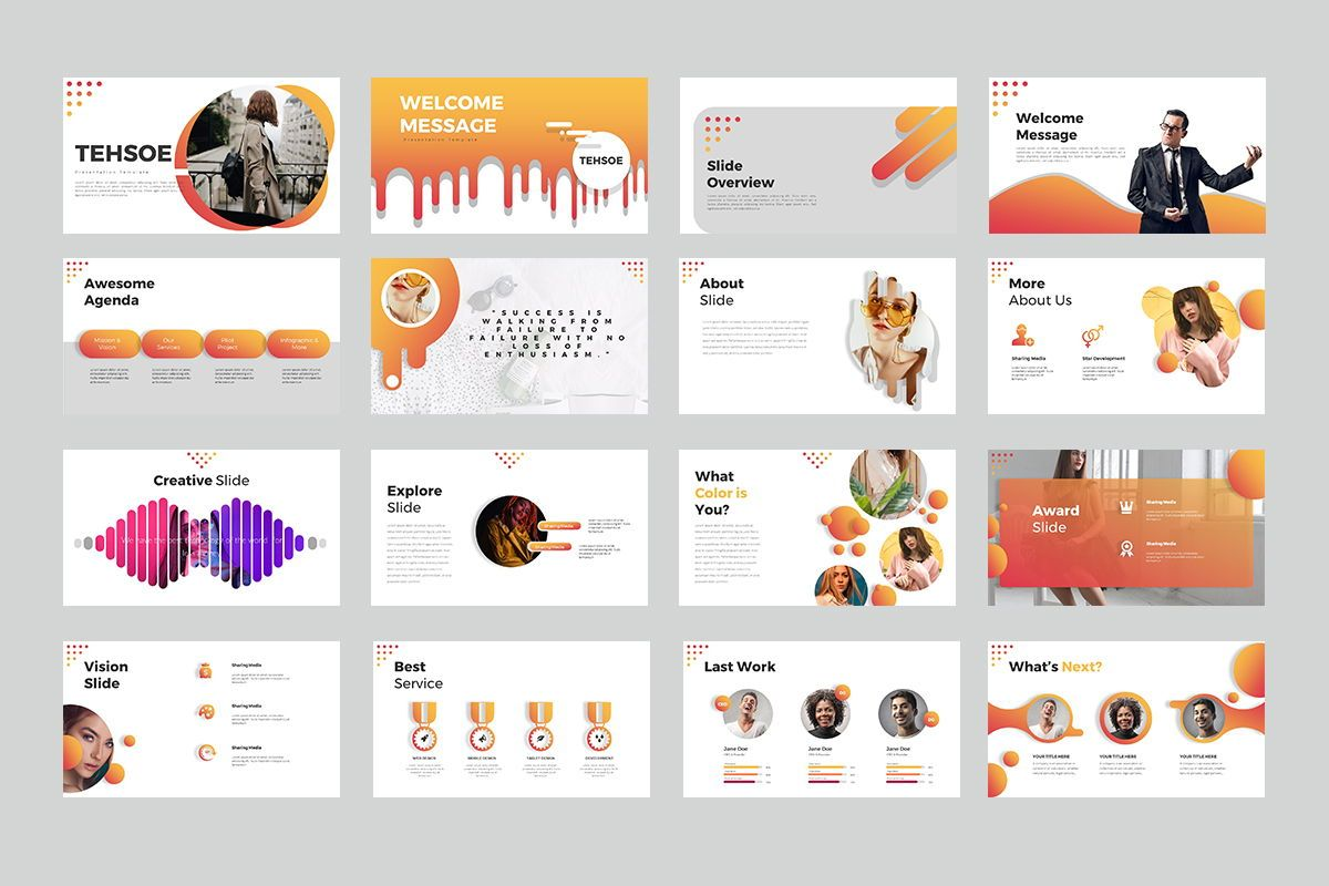 Tehsoe Google Slide Presentation, Slide 2, 07933, Business Models — PoweredTemplate.com