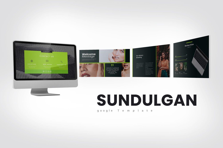 Sundulgan Google Slide Templates, 07941, Business Models — PoweredTemplate.com