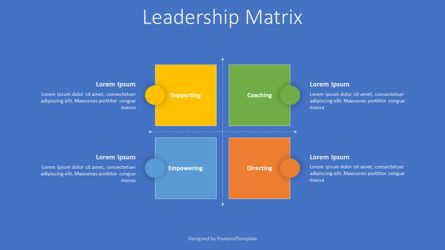 Business Models: Leadership Matrix Model #07945