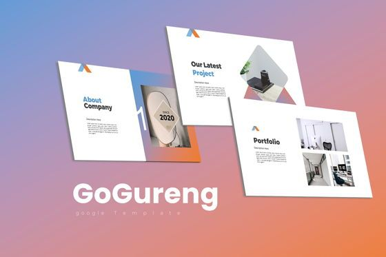 Business Models: GoGureng Google Slide Templates #07946