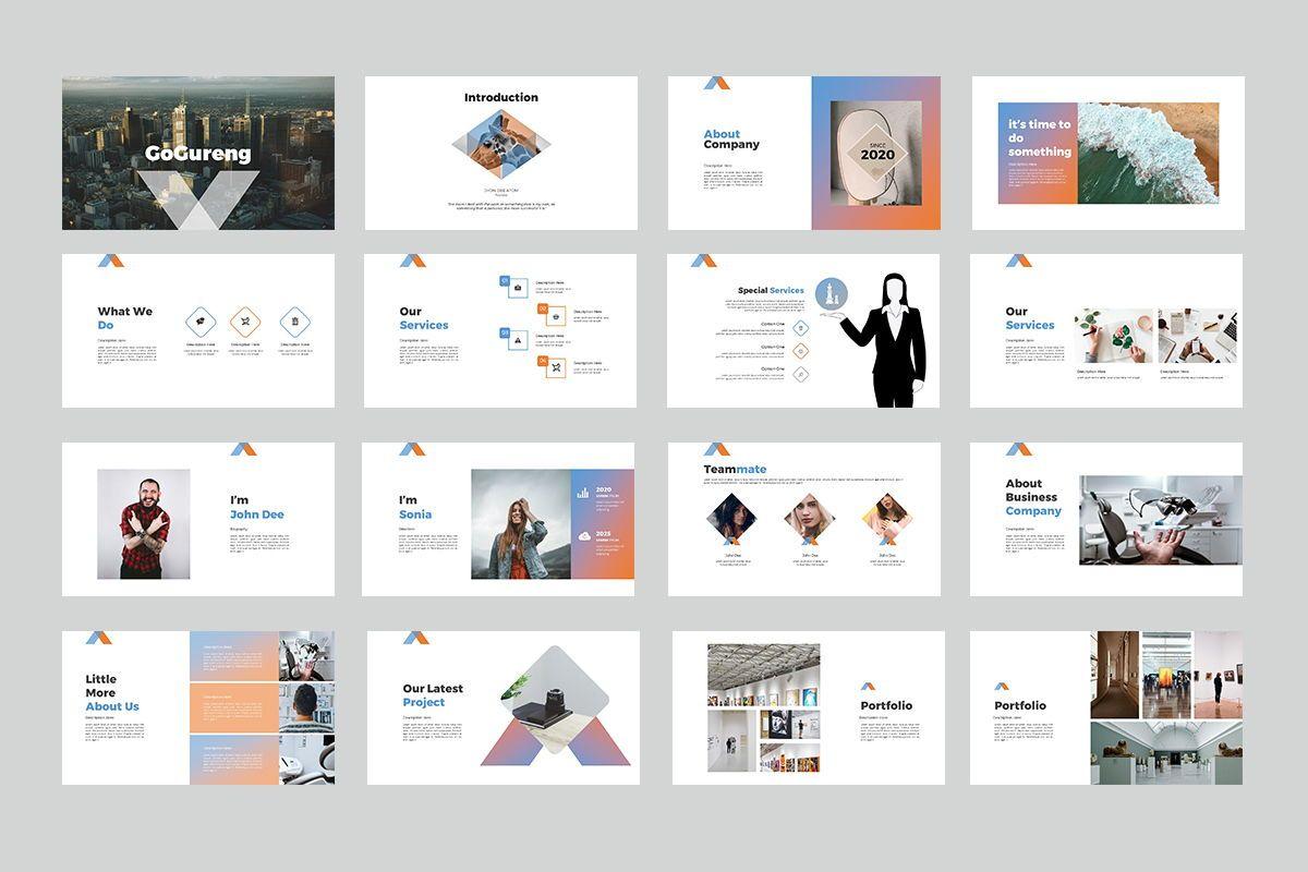 GoGureng Google Slide Templates, Slide 2, 07946, Business Models — PoweredTemplate.com