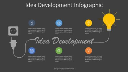 Infographics: Idea Development Roadmap #07956