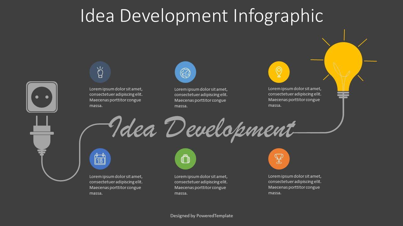 Idea Development Roadmap Free Presentation Template For Google Slides And Powerpoint 07956