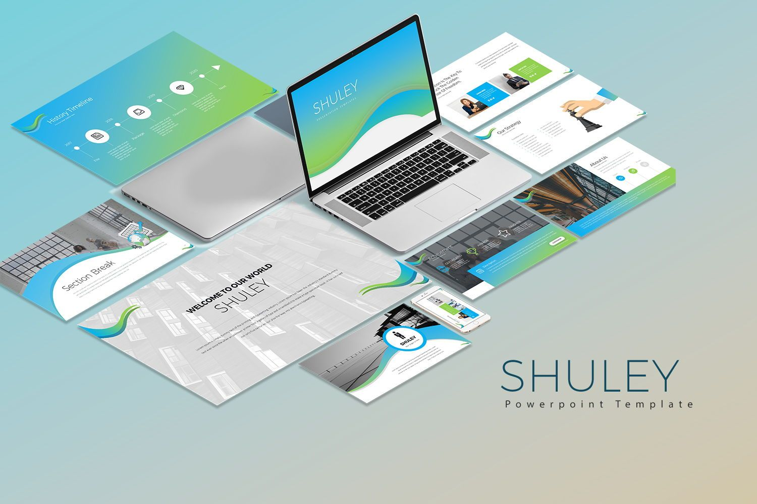 Shuley Googleslide templates, 07957, Business Models — PoweredTemplate.com