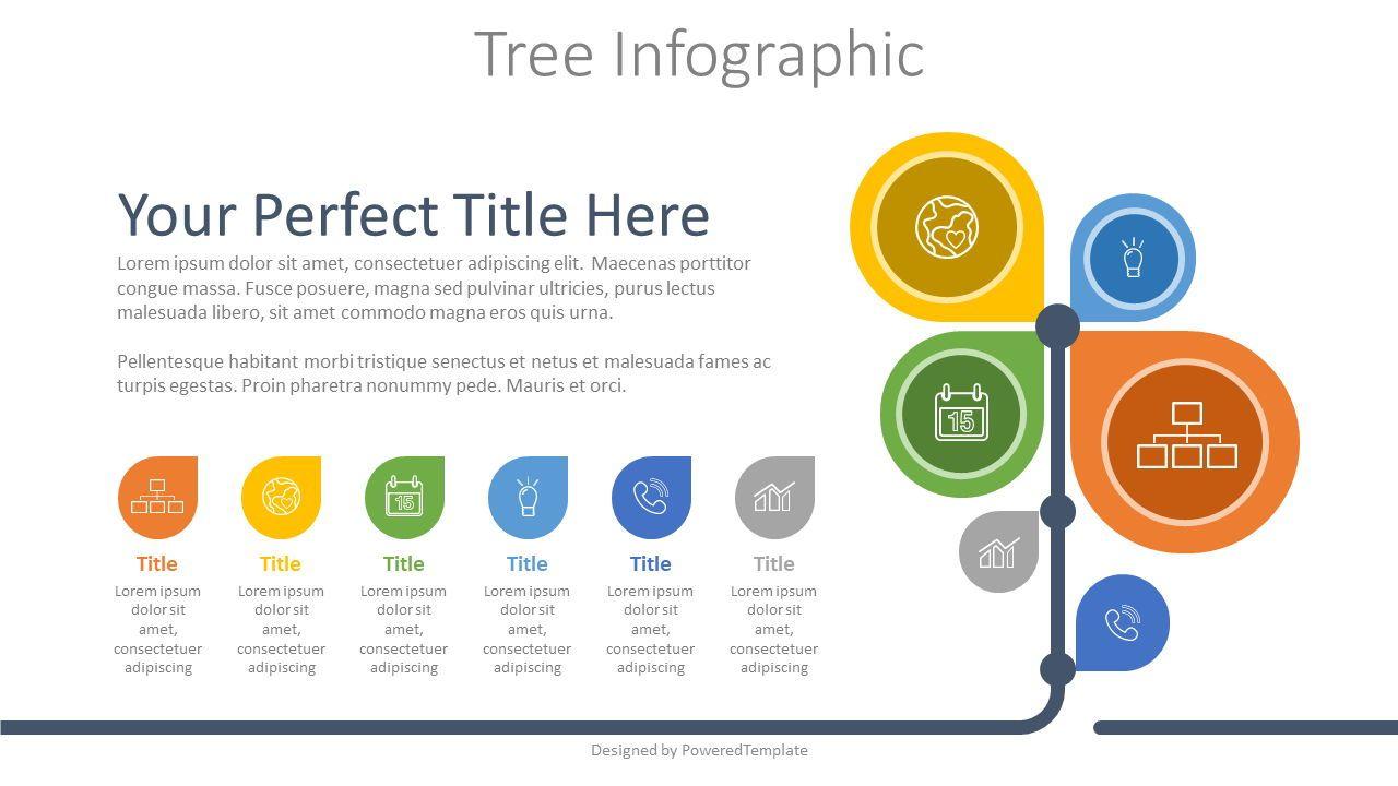 Business Tree Infographic, 07960, Infographics — PoweredTemplate.com