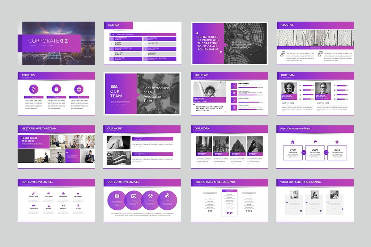 Corporate 0 2 PowerPoint Presentation, Slide 2, 07961, Business Models — PoweredTemplate.com