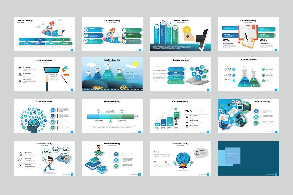 Education Infographic Keynote Templates, Slide 3, 07962, Business Models — PoweredTemplate.com