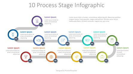 Process Diagrams: 10 Process Stage Diagram #07965